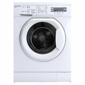 SHARP ESV80HA 8kg Front-Load Washing Machine Phillip Woden Valley Preview