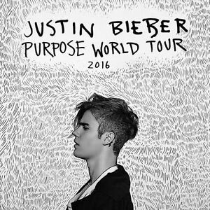 JUSTIN BIEBER tickets x 2 Surfers Paradise Gold Coast City Preview