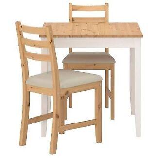 Lehrmen Table U0026 2 Chairs Ikea