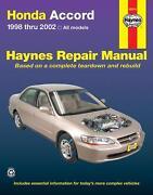 Haynes Repair Manuals Honda