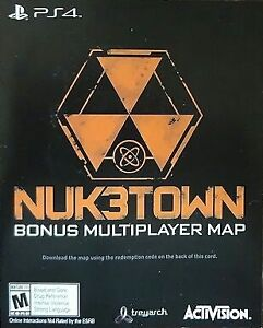 CALL OF DUTY BLACK OPS 3 NUK3TOWN & AWAKENING MAP PACK DLC PS4 Cambridge Kitchener Area image 2