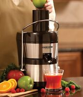 JACK LALANNE'S Power Juicer Ultimate Juice Extractor Stainless