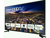 "Samsung 55"" LED 4K UHD smart tv builtin USB media player HD freeview"