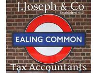 SELF ASSESSMENT TAX RETURNS : J.Joseph & Co, Est.1952, ACCOUNTANTS (Opp. Ealing Common Underground)
