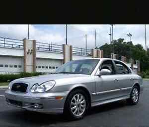 2004 Hyundai Sonata parts
