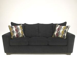 Black Sofa and loveseat