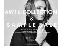AW SIXTEEN COLLECTION AND SAMPLE SALE
