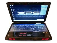 dell xps gaming laptop 2 hdds,2graphics cards very fast laptop