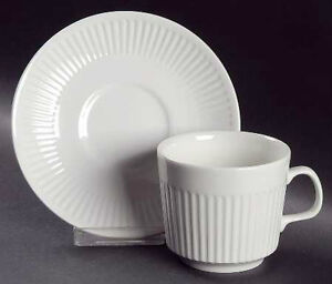 Johnson Brothers Athena Cups and Saucers - Set of 4