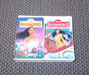 Pocahontas collections Walt Disney movies on VHS