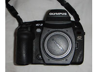 Olympus E3 'Professional' Camera Body, Vertical Grip, Batteries and Charger