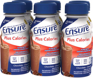 Chocolate Ensure Plus Calories Meal Supplement. Only $20/Case!!