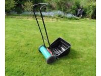 2 yr old Bosch manual lawnmower . Collection only.