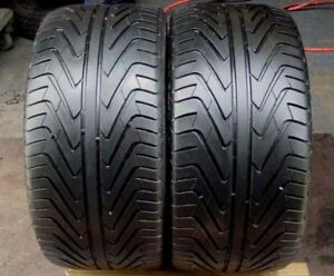 Set of 2 235/50/19 Michelin 70% tread