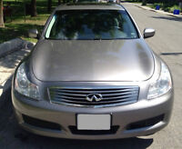 2009 Infiniti G37x Luxury Sedan with extended warranty
