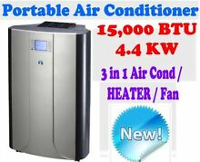 NEW JHS8 REVERSE CYCLE 15,000 BTU 4.4 KW PORTABLE AIR CONDITIONER Caulfield Glen Eira Area Preview