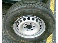 Mercedes sprinter spare wheel 235/65/R16C Goodyear marathon
