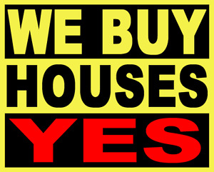 I BUY HOUSES! top dollar paid. Why fix when you can sell as is?