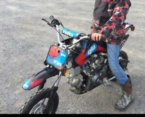70 cc Dirt Bike only used for 6 months!