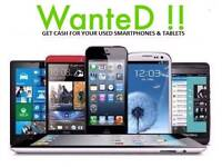 WANTED *IPHONE 8 & 7 PLUS SAMSUNG GALAXY NOTE 8 S8 PLUS MACBOOK PRO IPAD PRO