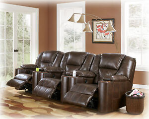 New Paramount Leather Power Recliner