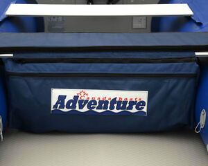 Seat Cushion with Under-Seat Storage Bag for Inflatable Boat