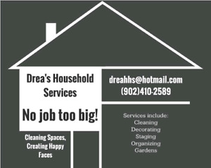 Cleaning, decorating and organizing