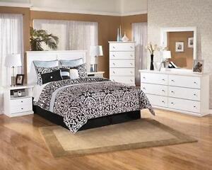 SALE ON NOW!  FLOOR MODEL CLEAROUT! Ashley Bedroom Set - Payment Plan