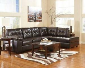 HUGE SALE !! ASHLEY 2 PC ALLISTON DURABLEND® RIGHT CHAISE CONDO SECTIONAL ONLY FOR $1099  REG 1799 (3 DAYS ONLY)