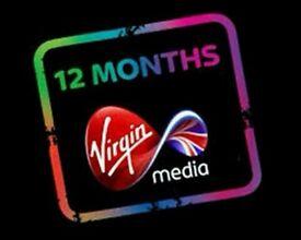 Virgin 12 months gift