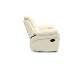 Richmond Lazyboy Cream Leather Armchair