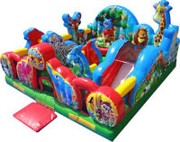 ANIMAL KINGDOM INFLATABLE BOUNCER FOR TODDLERS!