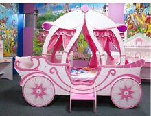 Princess Carriage bed/Princess Castle Desk and suite Carbrook Logan Area Preview