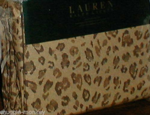 Ralph Lauren Leopard Bedding Ebay