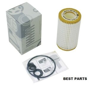 0001802609 mercedes benz genuine oil filter fleece ebay for Mercedes benz recommended oil