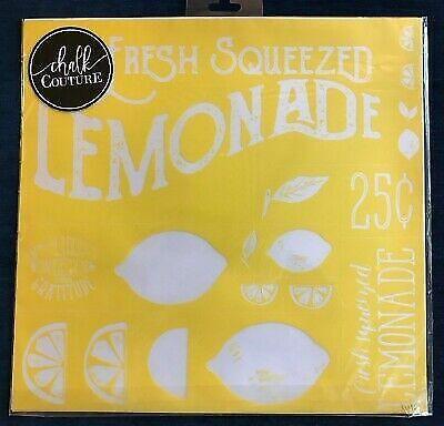 Chalk Couture Transfer, Lemonade Stand, RARE VHTF  - $199.99