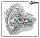Marquise Engagement Ring Settings