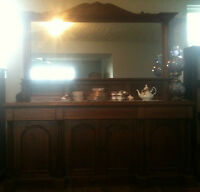 PRICE REDUCED ANTIQUE SIDEBOARD