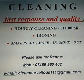 Deep cleaning and housekeeping