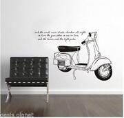 Scooter Wall Stickers