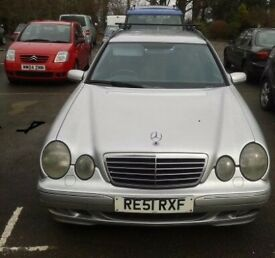 Mercedes E320 Diesel Estate 12 MONTHS MOT