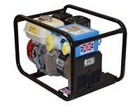 Stephill 3400HM4S 3.4 kVA Honda GX200 Industrial Petrol Generator