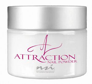 ★ NSI Attraction Acrylic powder Totally Clear 40g New ★