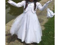 First Holly Communion Dress age 8