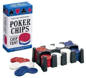 80 Professional Poker Chips