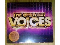 THE GREATEST VOICES: 3CD ALBUM