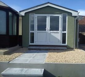 Static 2 bedroom mobile home to let
