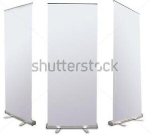 Roll Up Banners x 3 ($49.95 each)