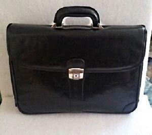 Bugatti Leather Briefcase