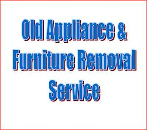 Old or Broken Furniture and Appliance Disposal